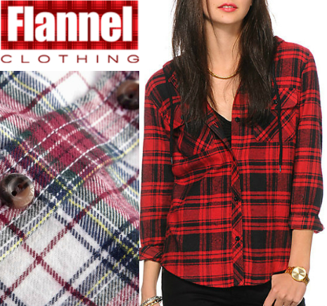 What's In The Flannel Clothing Collection  – 2015 Exclusive For Every One