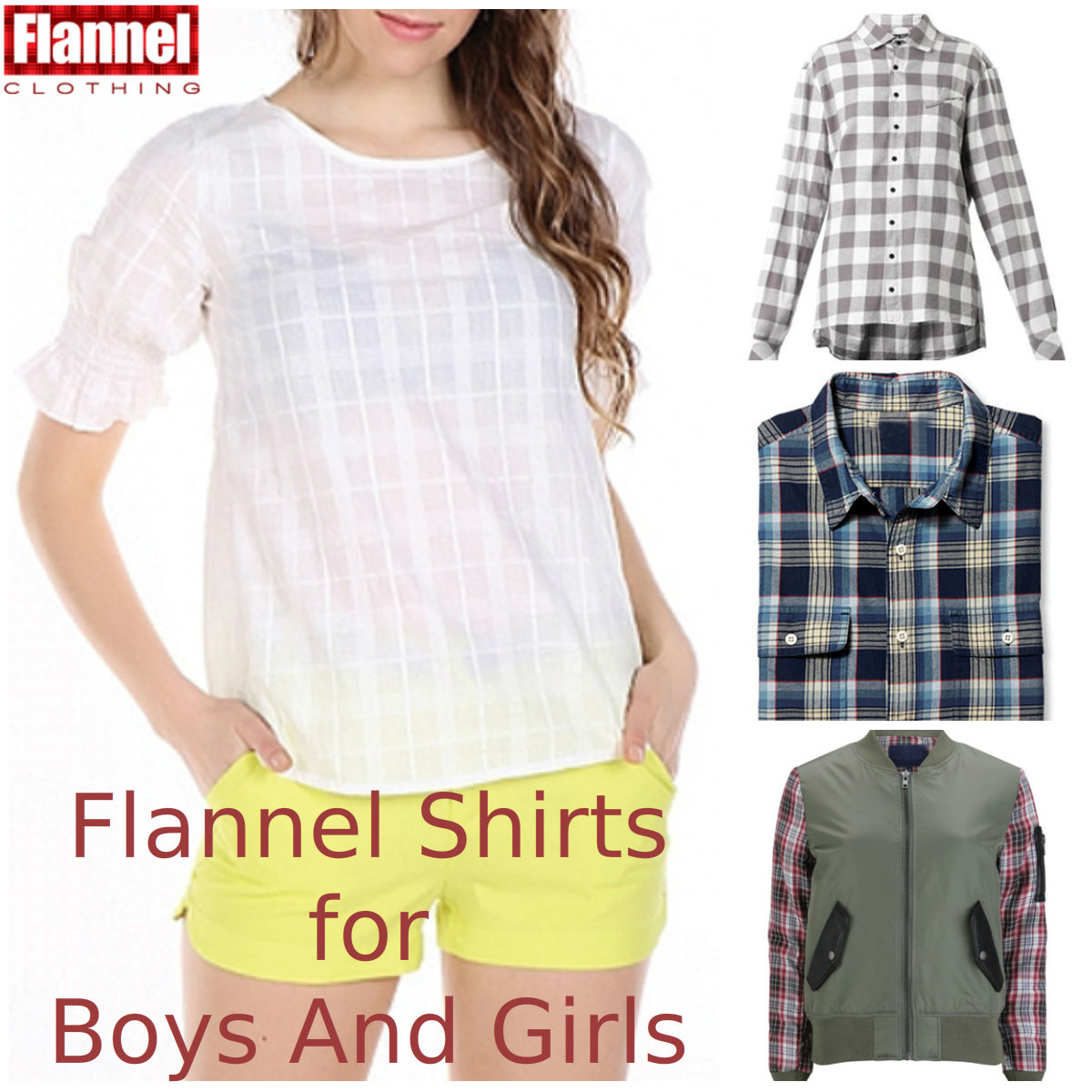 Few Ways For Boys And Girls To Deck Up In Flannel Shirts