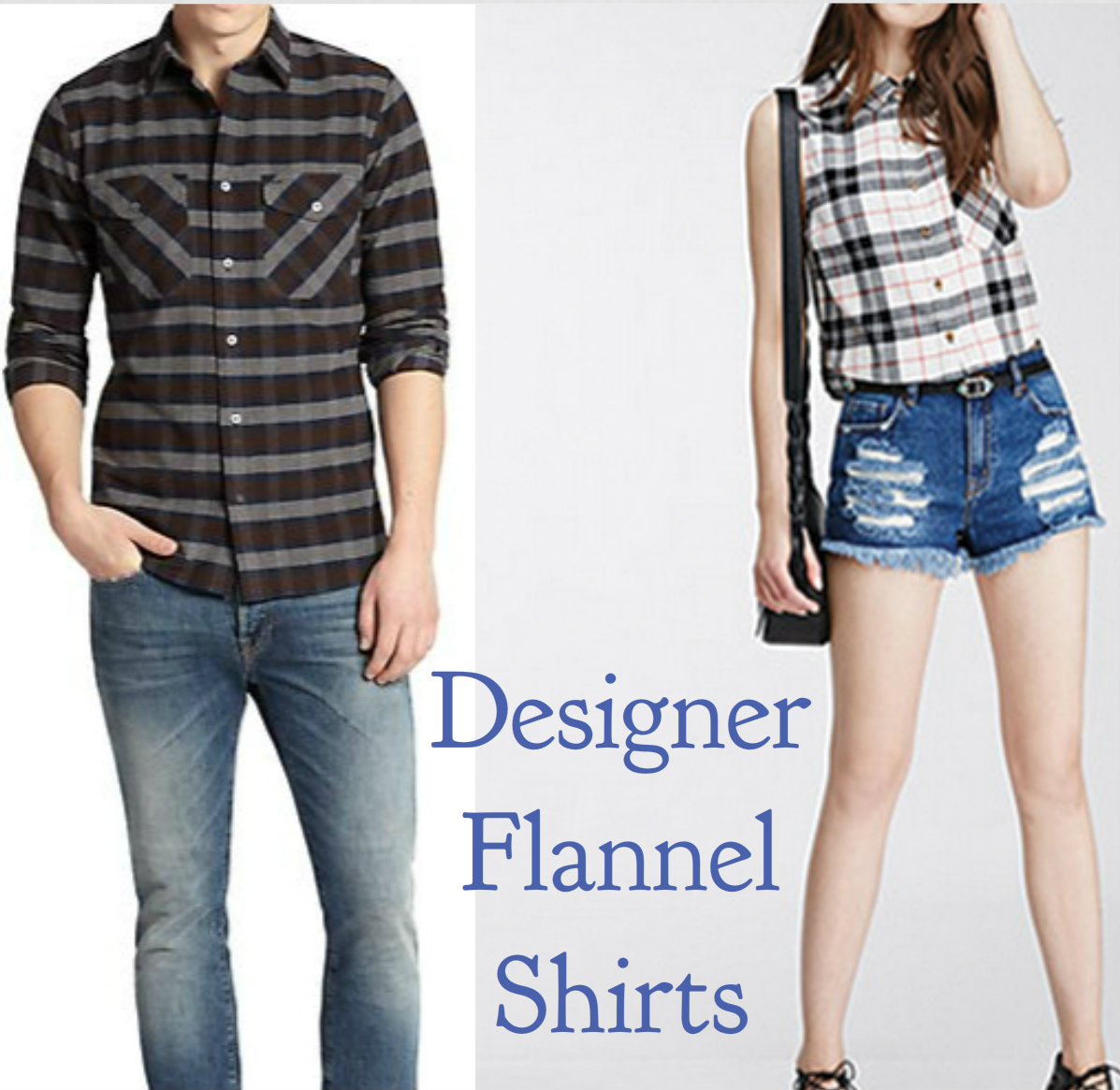 Shine Like A Celeb This Summer With Designer Flannel Shirts