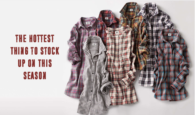 Flannel Shirts Are the Hottest Thing to Stock Up On This Season!!