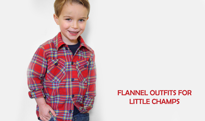 Top 3 Flannel Outfits Combinations for the Little Champs