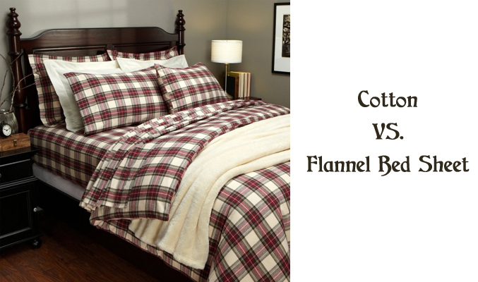 Cotton VS. Flannel Bed Sheet