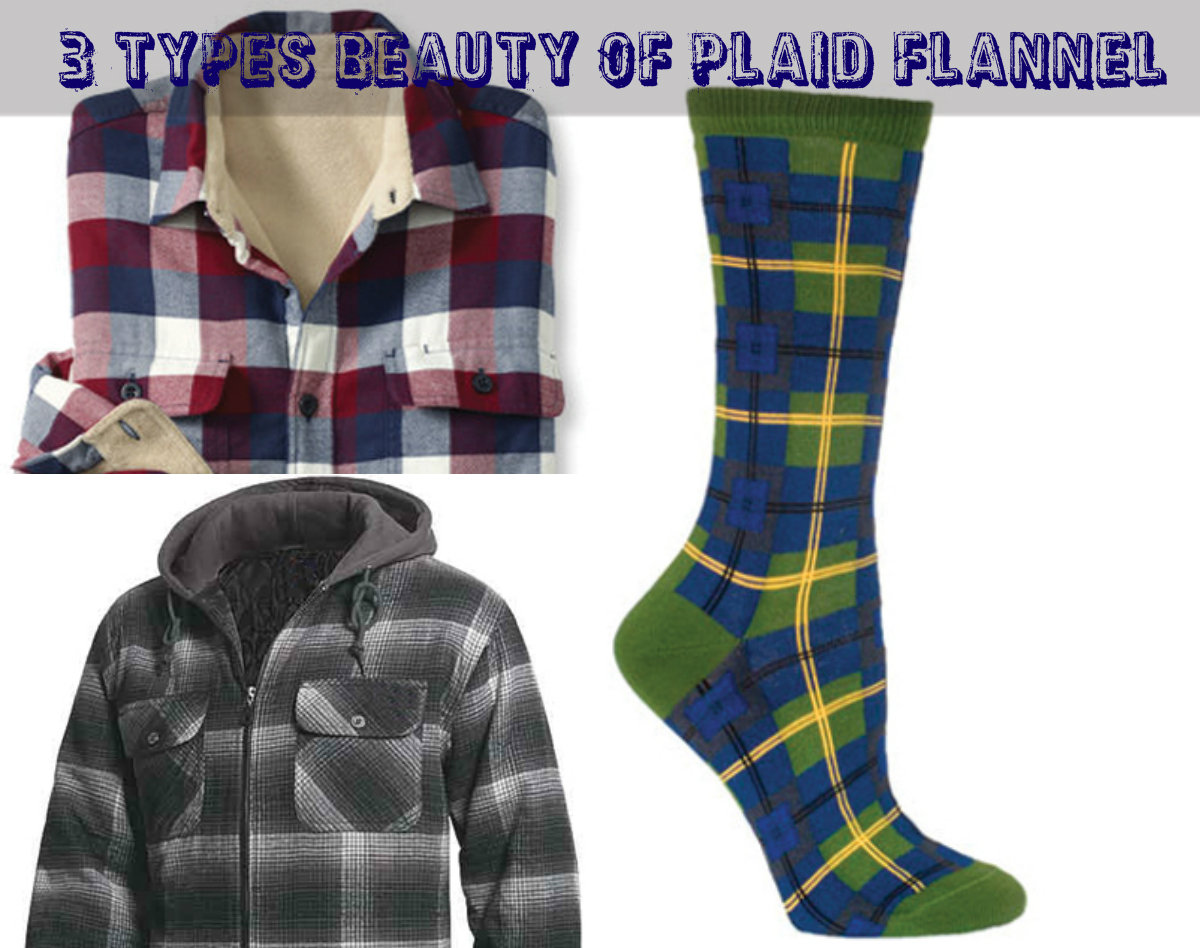 3 types of clothes that enhance the beauty of plaid flannel