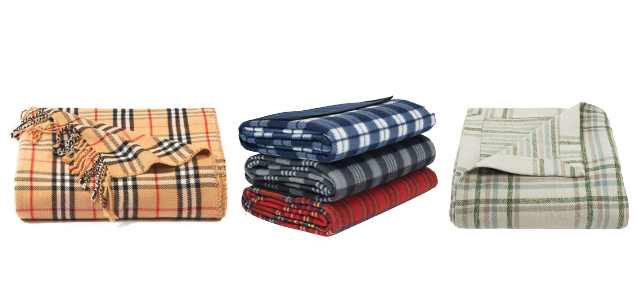 plaid flannel blanket