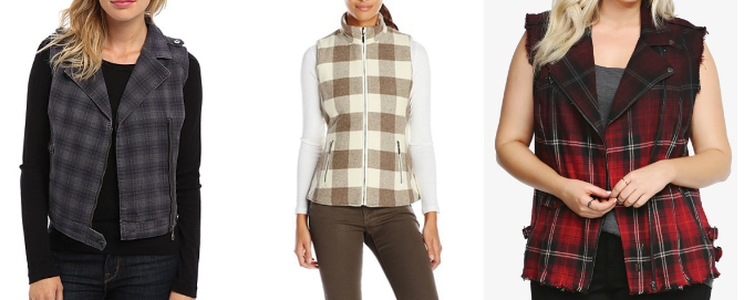 The amazing flannel vest that you can wear for different occasions effortlessly