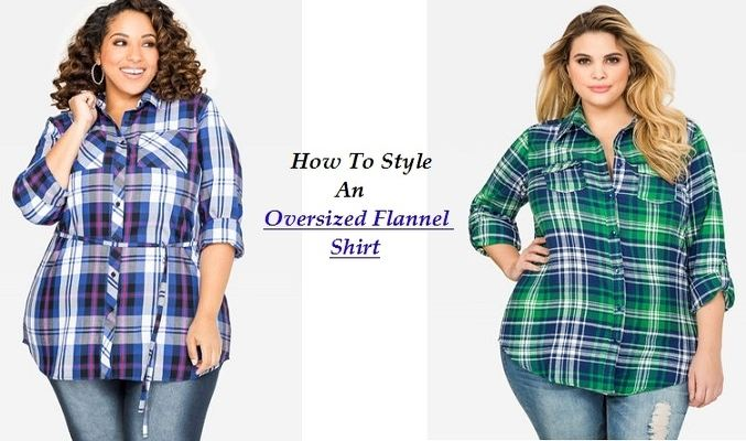Oversized Flannel Shirt USA