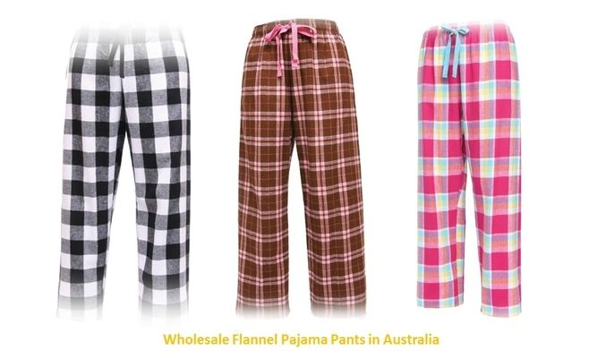 Flannel Pants Wholesale USA