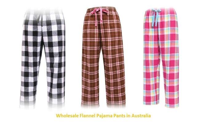 Flannel Pants Wholesale USA