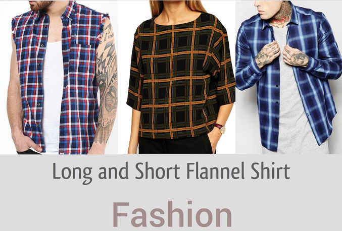 Long and Short Flannel Shirt Flooding Fashion Street In UK Available For Bulk Purchase