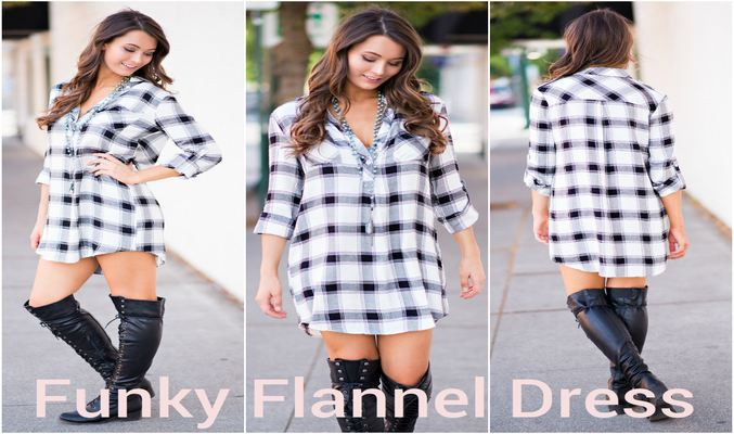 Flannel Dress Manufacturer