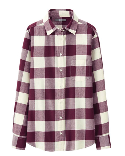 flannel plaid shirts women's