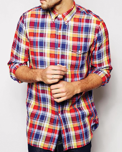mens check flannel shirts