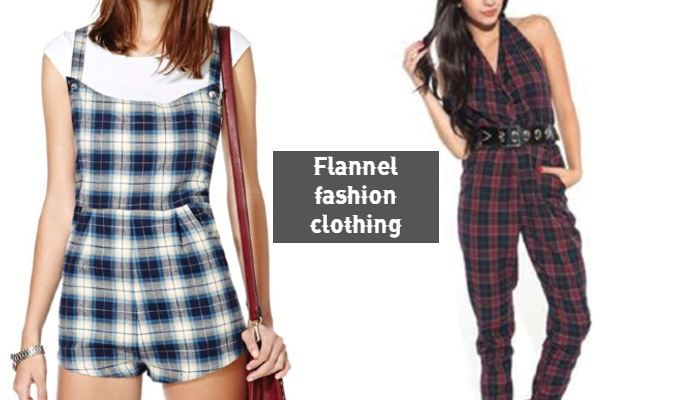 Flannel Jumpsuits