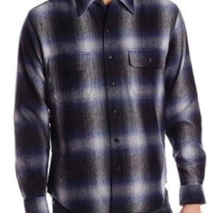 Airbrush Patchy Wool Shirt suppliers
