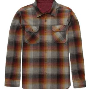 Airbrushed Flannel Shirt for Boys