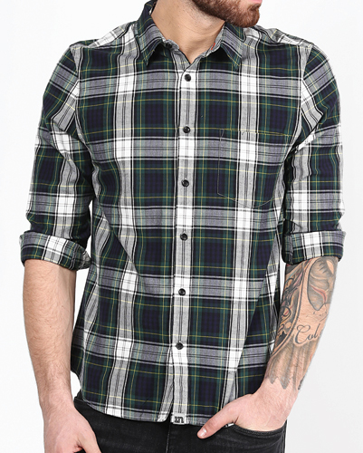 Anticlimax Check Flannel Shirt