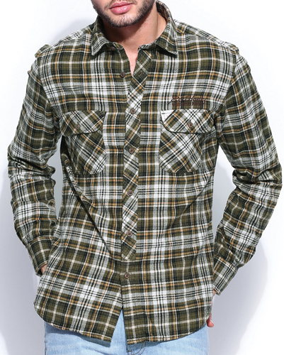 Aurora Chrysalis Flannel Shirt