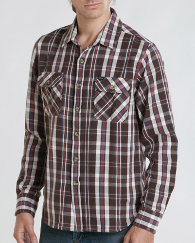 Backyard Earth Designer Flannel Shirt
