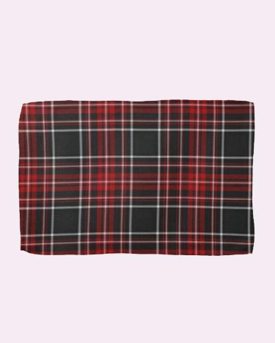Bagpiper Check Towel