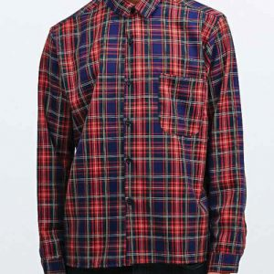 Band Box Check Vintage Flannel Shirt