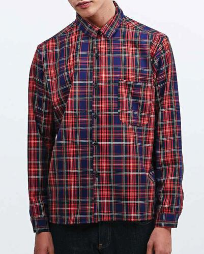 Band Box Check Vintage Flannel Shirt