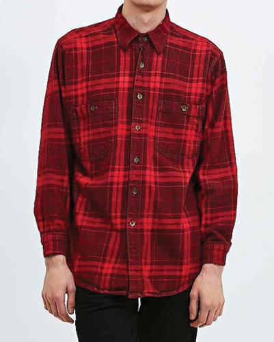 Bell Pepper Vintage Flannel Shirt