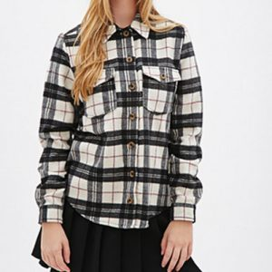 Black and White Flannel Shirts Manufacturer