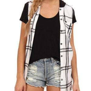 Black and White Long Shirt