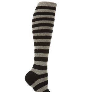 Black and White Zebra Stripe Socks