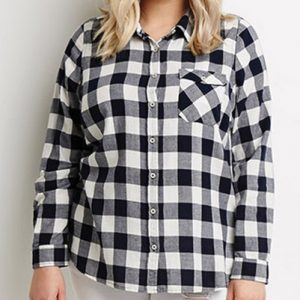 Black Cherry Flannel Shirt
