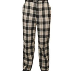 Black Vintage Men's Trousers
