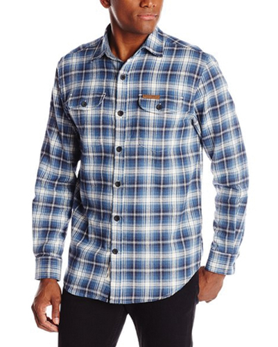 Blue Bold Field and Stream Flannel Shirts