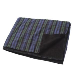 Blue Bombarding Flannel Blanket