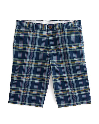 Blue Checks Shorts