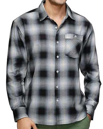 Blue Hawk Vegetable Flannel Shirt