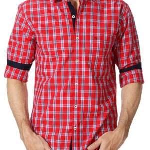 Blushing Tomato Men's Flannel Shirt