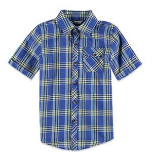 Boy Go Charm Check Flannel Shirt