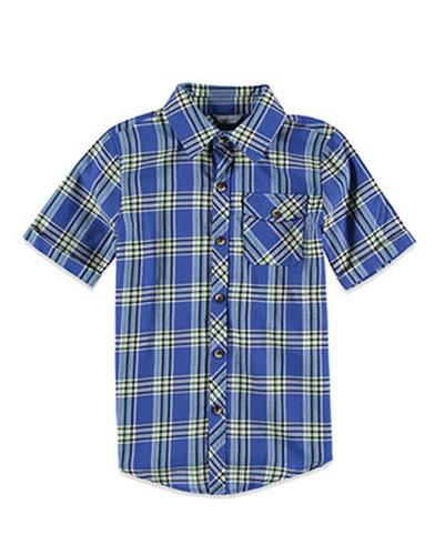 Boy Go Charm Check Flannel Shirt