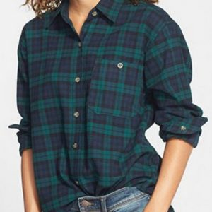 Boyfriend Stolen Cool Flannel Shirts