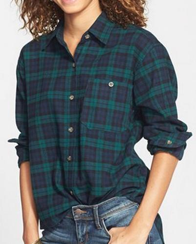 Boyfriend Stolen Cool Flannel Shirts