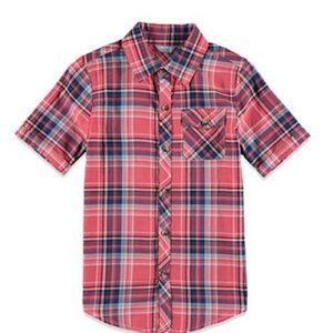 Breezy Red Flannel Shirt