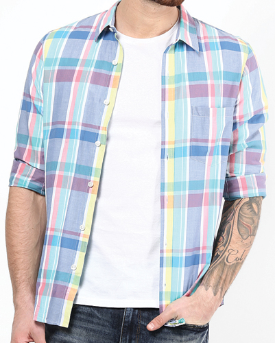 Brighton Check Flannel Shirt