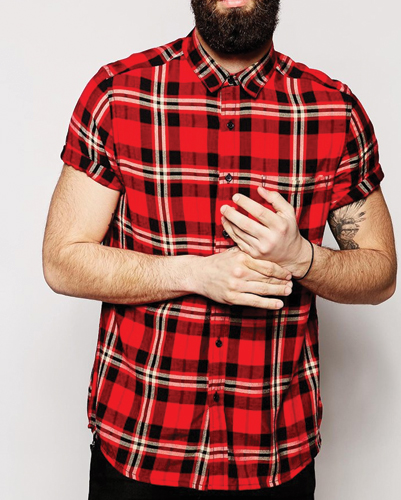 Bring It on Red Flannel Shirt