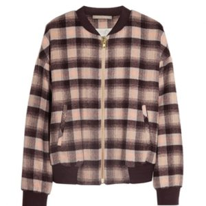 Brown Flannel Sweat Shirt