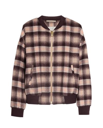 Brown Flannel Sweat Shirt