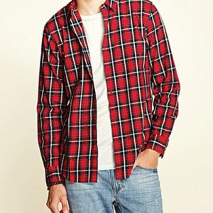 Bulls Eye Long Sleeve Flannel Shirt