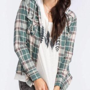 Butter Scotch Long Sleeve Flannel Shirt
