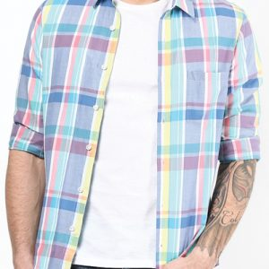 Button-Up Cool Flannel Shirt