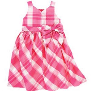 Candy Clean Flannel Check Dress
