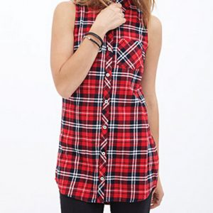 ChatterboxRed Checked Flannel Shirt